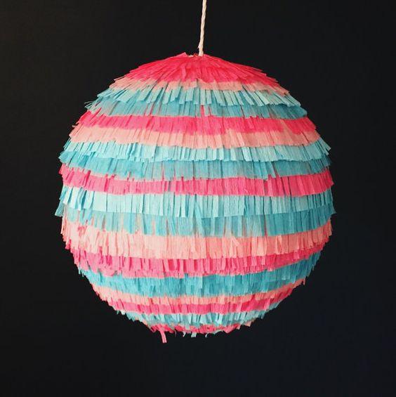Gender Reveal Piñata Baby Showers Sip n' Sees by TheBlowout