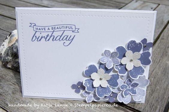 Blumige Geburtstagsgrüße - Flower Shop - Stampin' Up!