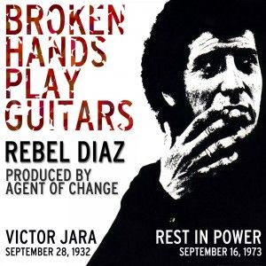 """I was not feeling well these days, so I missed the occasion to post this on the anniversery of Víctor Jara's death. I'm posting it now, dedicated to Pavlos Fyssas who was killed last night by nazi Golden Down members in Athens.  """"From broken hands to broken lands, they can never ever brake our spirit..."""""""