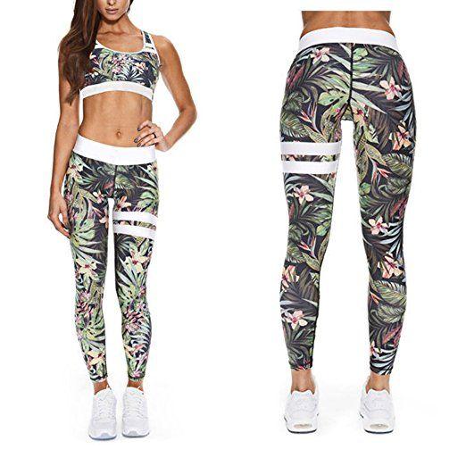 Juleya Frauen Sportanzug Yoga Legt Hemd BH Laufen und andere Aktivit/äten Leggings Elastizit/ät Fitness Anz/üge f/ür Yoga
