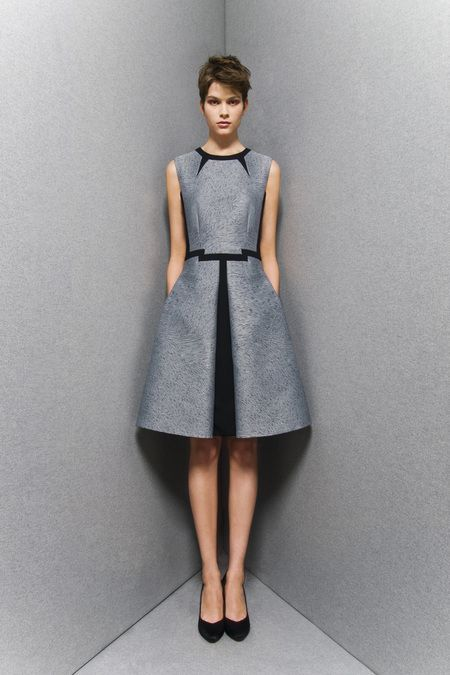 Sportmax Pre-Fall 2013, beautifully structured and tailored dress, <3