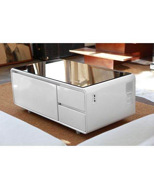 Furniture Sobro Smart Storage Coffee Table With Refrigerated