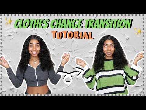 Jump Snap Clothes Change Transition For Tik Tok Youtube Easy Video Transitions Tutorial Youtube Easy Video Clothes Tik Tok