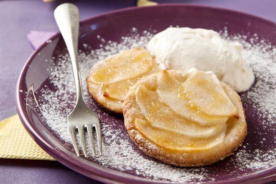 Tartines de manzana