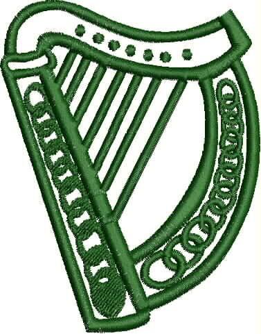 celtic-harp-dst-pes-em-uqabg9-clipart.jpeg (377×481) | NORTHERN ...