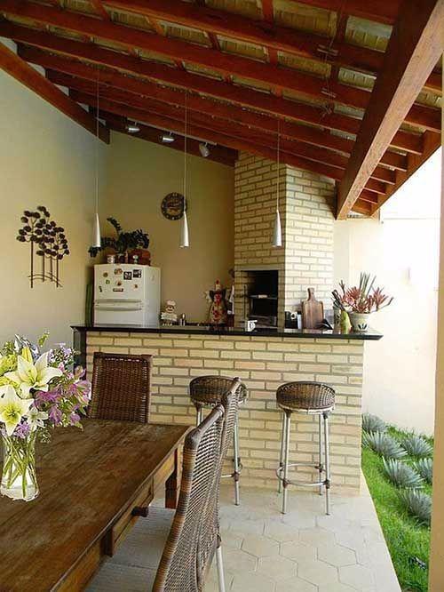 edicula churrasqueira rustica in 2020 Kitchen design small Kitchen decor Kitchen design