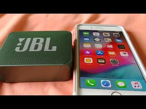 How To Pair Jbl Go 2 Bluetooth Speaker To Iphone 7 Or 7 Plus Youtube Bluetooth Speaker Bluetooth Jbl