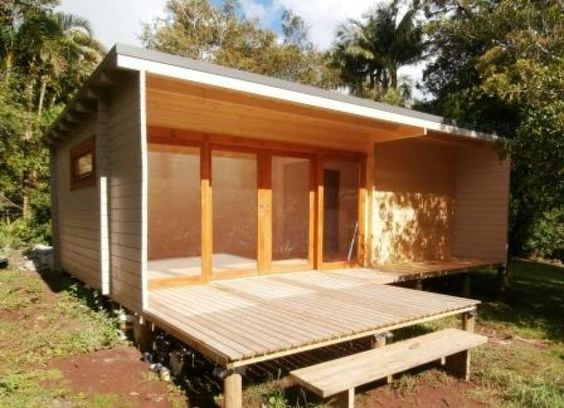Studios nice and flats on pinterest for Eco cabin kits