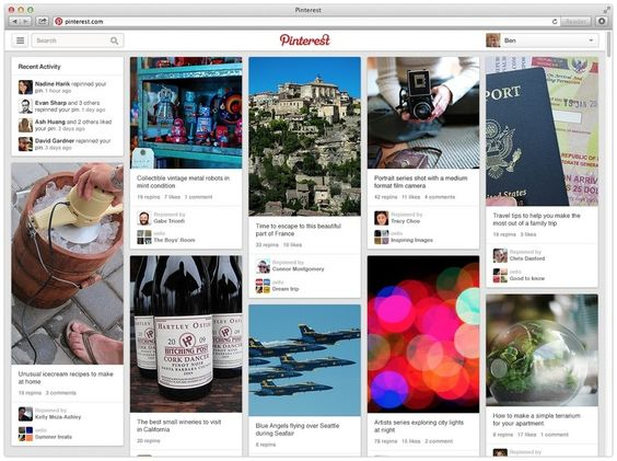 Why the half-life of a Pinterest pin is thousands of times longer than a tweet or Facebook post #socialmedia #facebook #pinterest