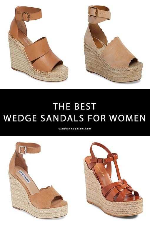 20 Must Have Wedge Sandals For Women