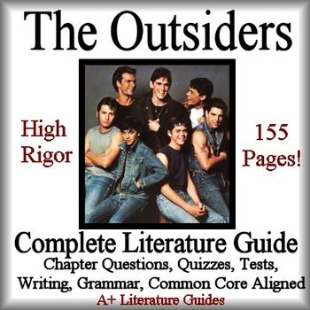 I am doing an essay on the book The Outsiders.?