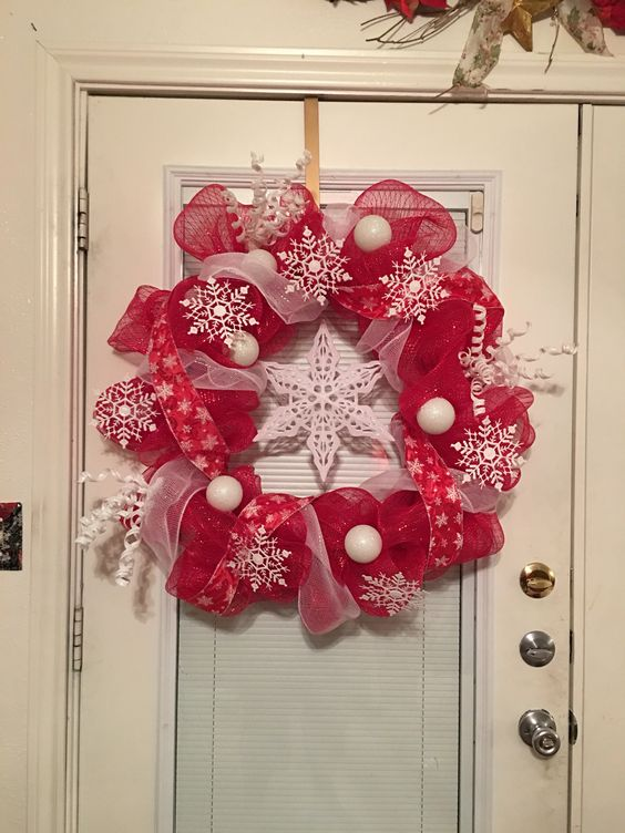 My newest Christmas wreath