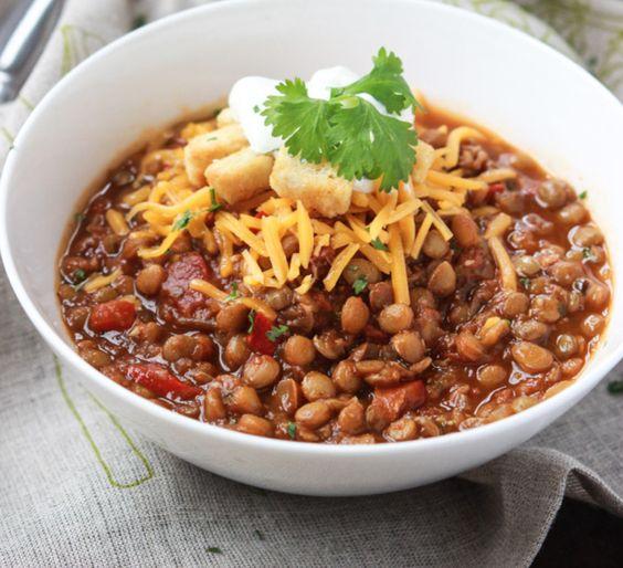 Vegetarian Chili Recipes -- winning recipes of Eaters Choice Awards