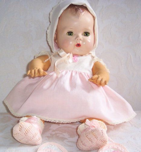 Tiny Tears by american Character Dolls-from-the-1950s