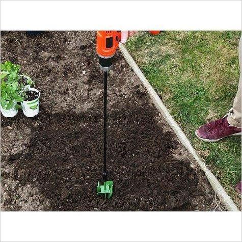 Garden Hole Digging Extension Drill Bit Garden Tool Set Garden