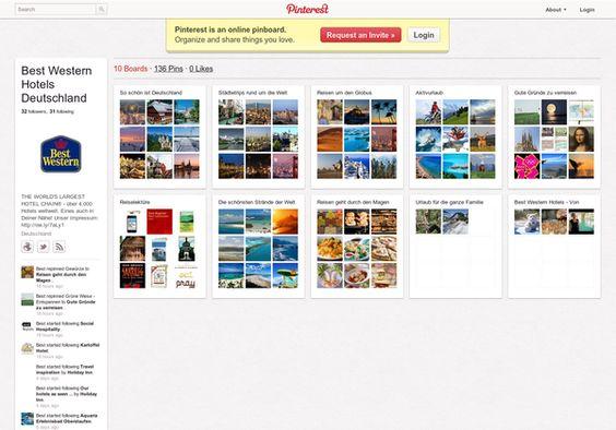 Best Western Hotels Deutschland http://pinterest.com/bestwesternde