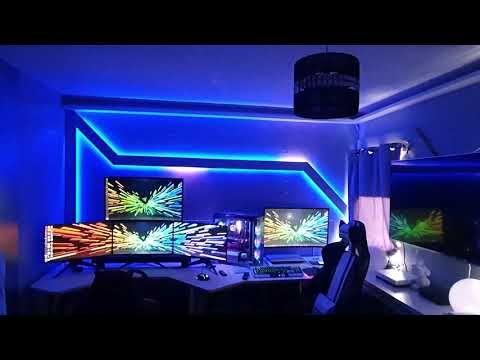 Govee Dreamcolor Led Light Strip Music Demo Youtube Led Light Strips Strip Lighting Led Lights