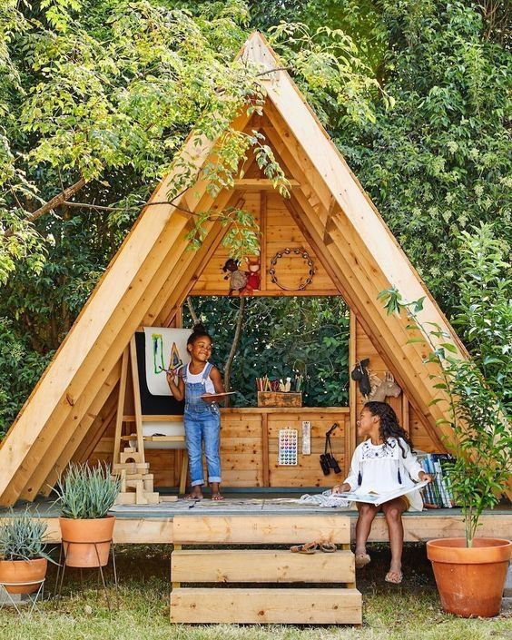 Construire Une Maisonnette En Bois Maison Pour Les Enfants Le Blog Du Bricolage Sth75018