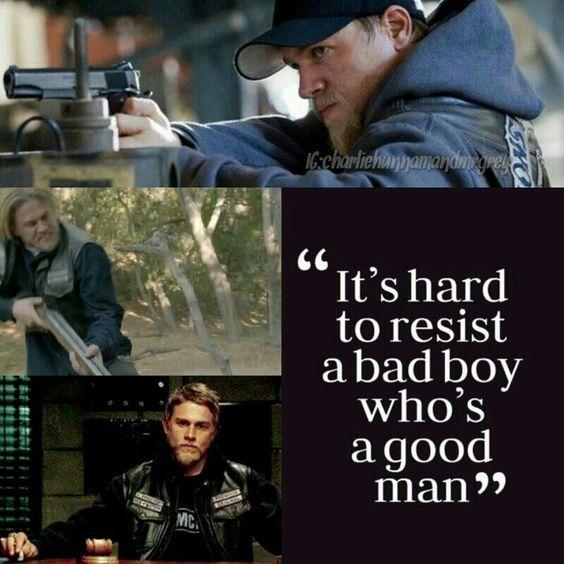 Bad Boy & Good Man Jax Teller