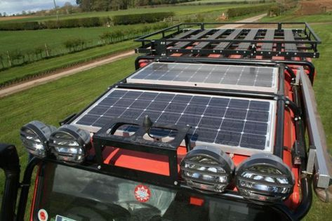 Our Camping Solar Guide Will Point You In The Right Direction So You Can Get It Right The First Time With Out A He Land Rover Defender Land Rover Solar Panels