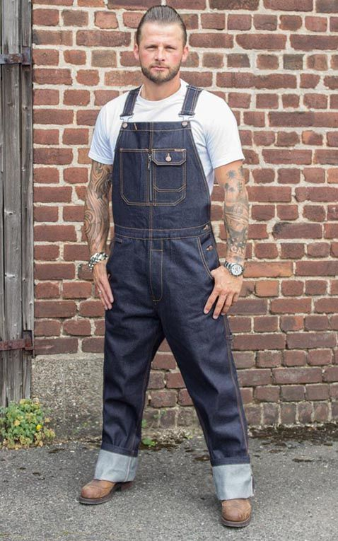 Rumble59 Jeans Raw Selvage Denim Dungarees Latzhose In 2020