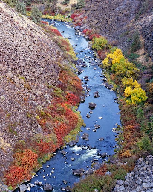 Crooked River Gorge, Central Oregon