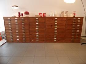 Großer Planschrank   Schubladenschrank   Industriedesign
