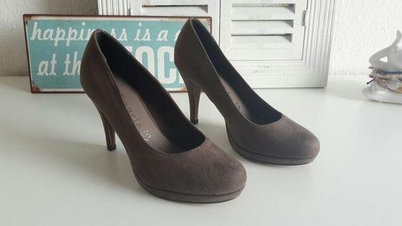 Graue High Heels von Tamaris