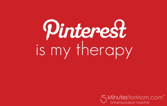 Pinning Therapy - how one bloggers combines her love of Pinterest with thumbnail linkys.