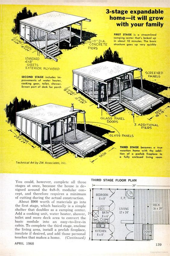 Build In A Summer Vacation Homes Amp Plans Someday Cabin