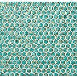 Thumb dwell 6dht turquoise hexagon gold 30x28 5 r