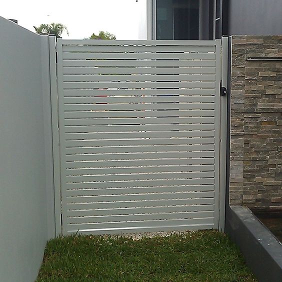 Nice, On The Side And Cheap Privacy Fence On Pinterest