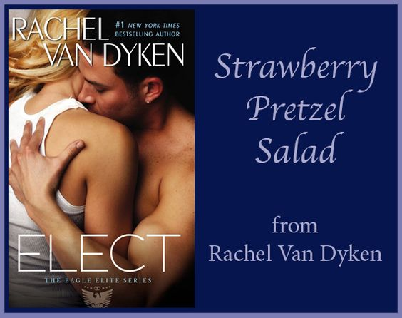 Calling this recipe a salad may be false advertising…but there's no doubt this dessert from Rachel Van Dyken is the best you've ever had! https://grandcentralpublishing.wordpress.com/2014/12/01/strawberry-pretzel-salad/