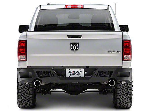 Barricade Ram Extreme Hd Rear Bumper Textured Black R102617 09 18 Ram 1500 Dodge Ram Bumper Ram 1500 Dodge Trucks Ram