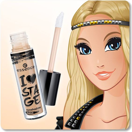 """hi beauties, an eyeshadow base is absolutely essential for professional looking eye make-up styles. our """"i love stage"""" base makes your eyeshadow last longer and the colours look more intense, too!  have you tried it yet?  #essence #eyes #eyeshadow"""