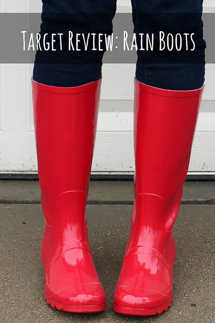 Cheap Rain Boots from Target, Amazon, and ModCloth! Love these ...