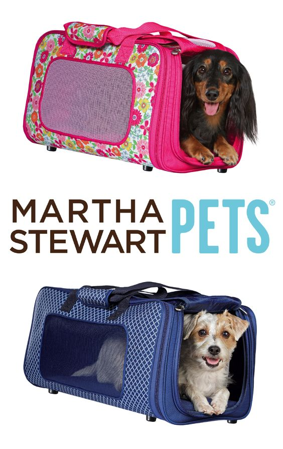 Are you traveling this #MemorialDay weekend? Bring your #pet along with our #MarthaStewartPets Garden Party or Nautical travel carrier - only at #PetSmart.