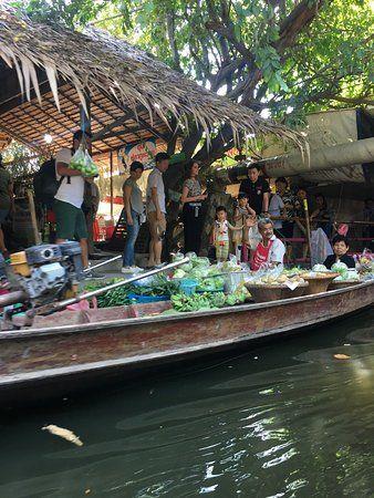 [Chia sẻ] Du lịch chợ nổi Chợ nổi Khlong Lat Mayom, Bangkok, Thái Lan