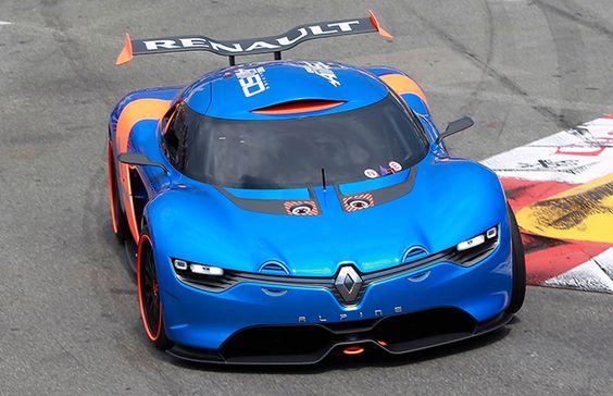 Renault Alpine supercar   Sports Car Reviews