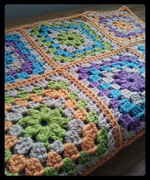 Granny Square Blanket by Aviena