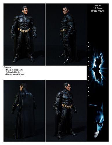 Mattel Dark Knight Bruce Wayne by ETDS1, via Flickr