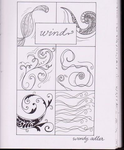 Wind Doodle Page