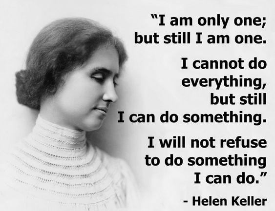 Blog post includes resources for study on Helen Keller {via simplehomeschool.net}