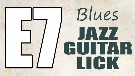 This youtube video is about a jazz blues guitar lick with tabs using the major blues scale and the mixolydian mode.