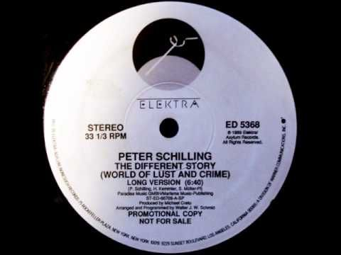 Peter Schilling The Different Story (World Of Lust And Crime)