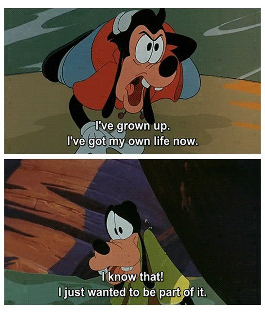 This scene made me tear up ;-; Goofy Movie