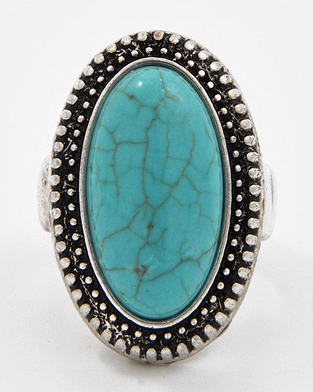 LOVE vintage turquoise rings <3