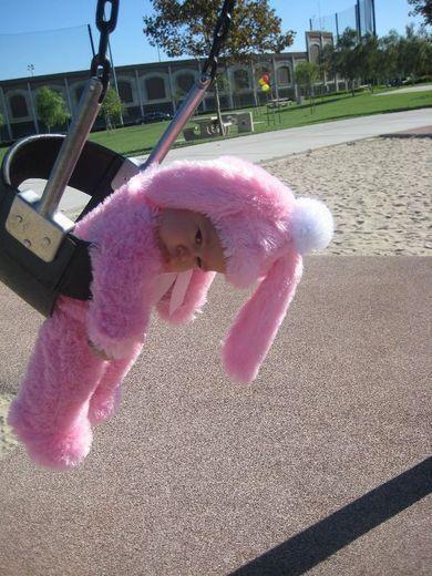 HAHA- baby bunny: JUST HANGIN @di