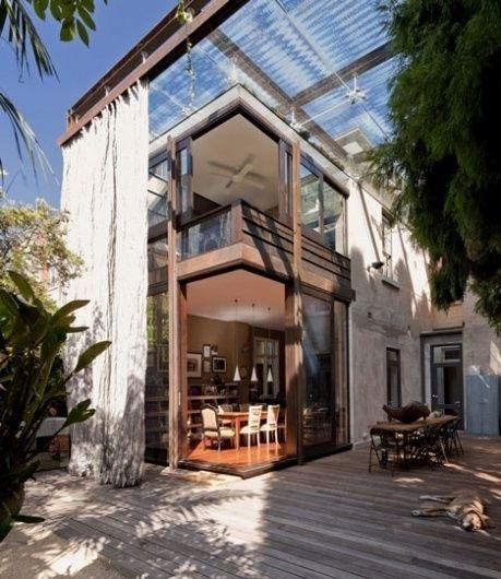 Dezeen » Blog Archive » Glass Loggia House by Allen Jack+Cottier, Vladimir Sitta and Belinda Koopman