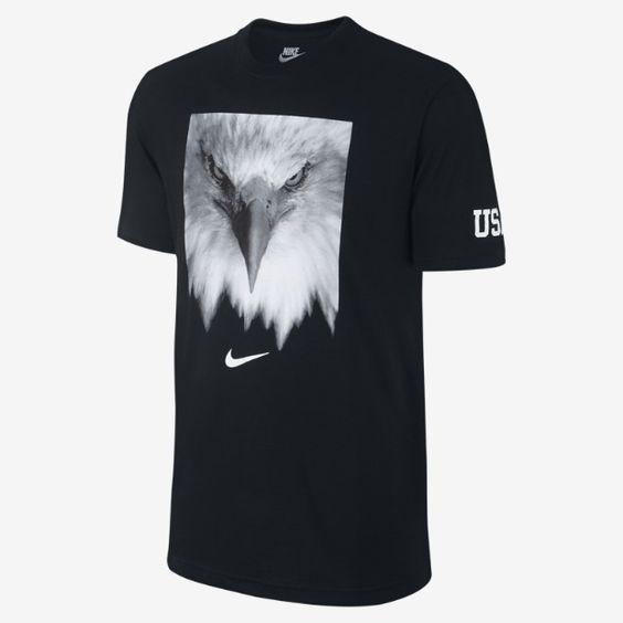Nike Eagle (USOC) Men's T-Shirt | Nike | Pinterest | Eagles, Nike ...